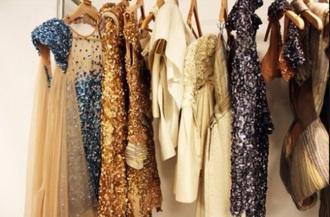 dress beige dress sequin dress paillette blue dress gold sequins gold dress prom dress