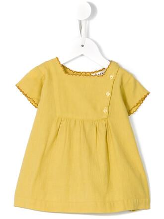 dress baby dress girl baby toddler yellow orange