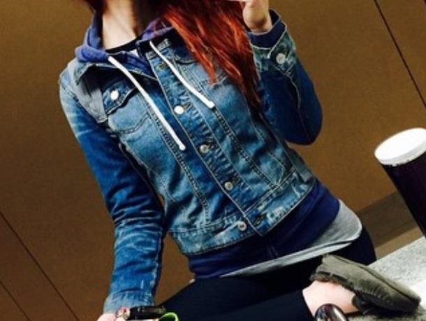 jacket blue jean jacket