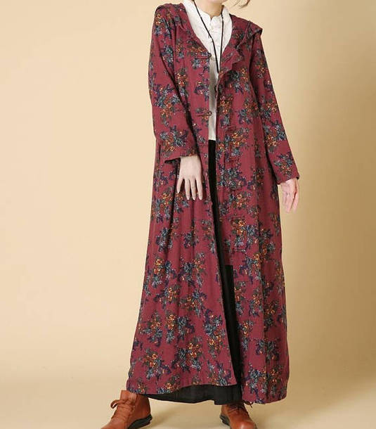 dress maxi dress long coat windbreaker