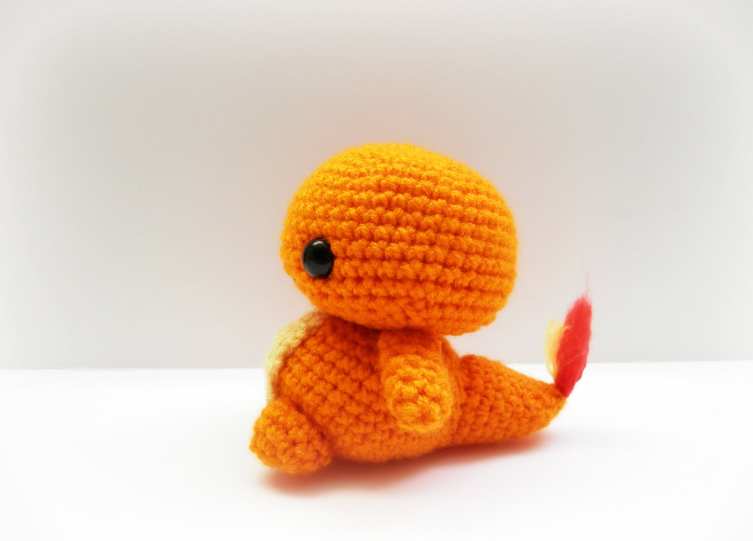 Crochet Charmander Inspired Chibi Pokemon