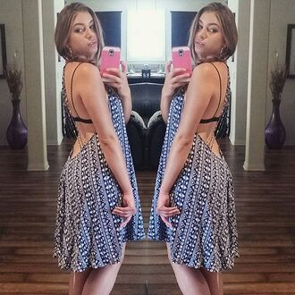 dress angl clothing shop angl printed dress open back dresses tribal print dress beaded back summer dress open back angl