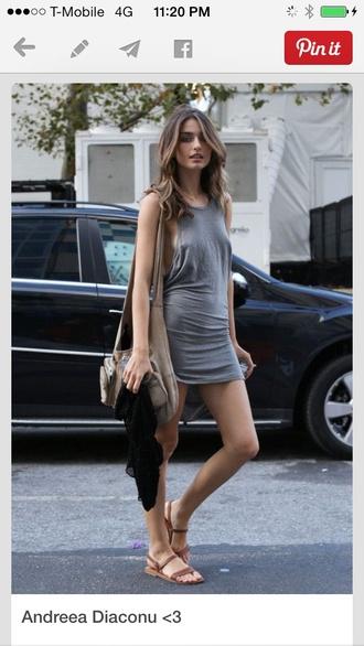 dress loose cotton shift dress mini tight