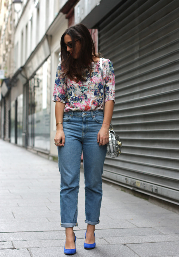 barock and roll blogger blouse jeans