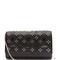 Paloma embellished leather clutch