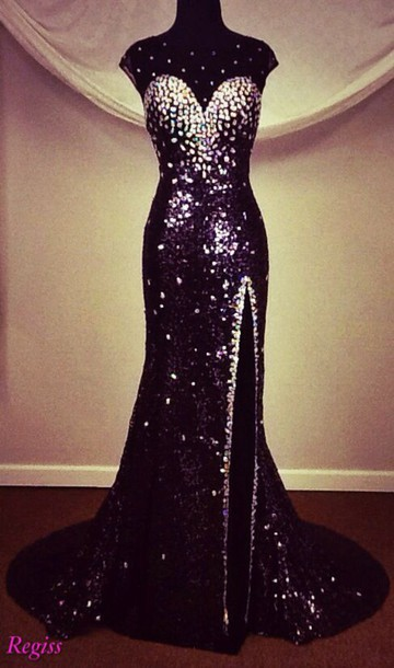 dress regiss panoply prom dress sequins
