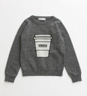 sweater,grey,coffee,fashion,winter sweater,starbucks coffee