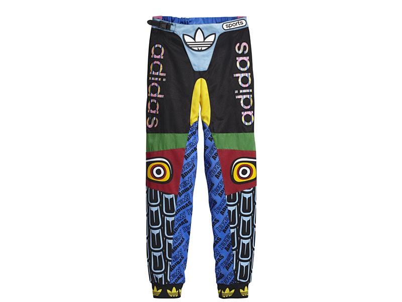 Adidas originals by jeremy scott obyo js eagle moto pants (multi/multi)