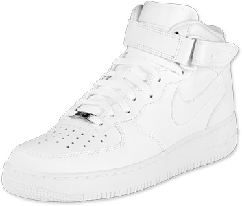 Nike Air Force 1 Mid schoenen wit