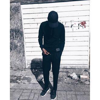 top maniére de voir menswear polo neck black trendy fashion style kanye west