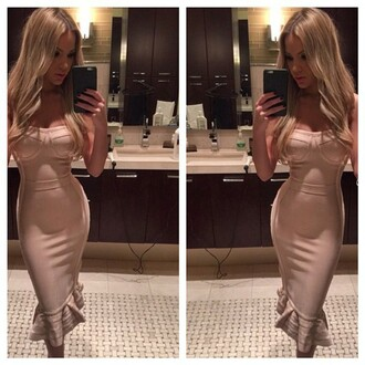 dress bandage dress sexy dress nude dress mermaid evening dress maxi dress bodycon dress