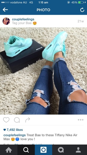 shoes tiffany nike nike running shoes nike sneakers nike air max 1