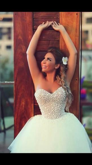 pearls white dress pearls dresses