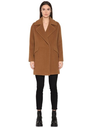 coat wool coat wool camel
