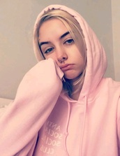jacket,girly,girl,tumblr,pink,sweater,hoodie,antisocial social club