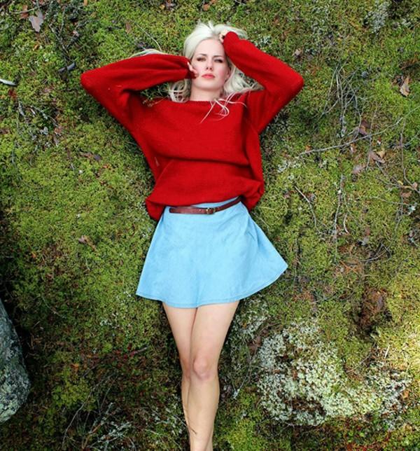skirt pretty skirt streetstyle stylemoi blue skirt denim skater skirt