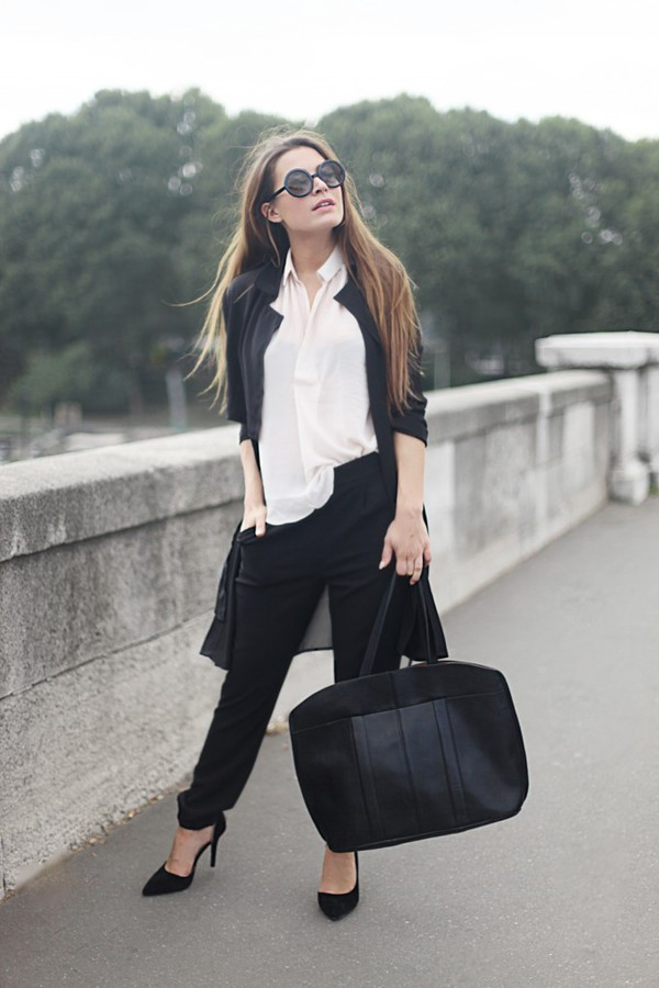 frassy blogger blouse bag