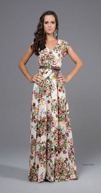 dress floral dress maxi dress