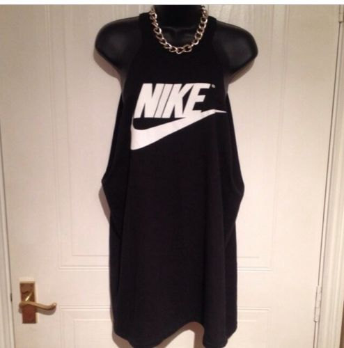 Diy customised nike deep pitted side boob halter neck top one size beachwear festival