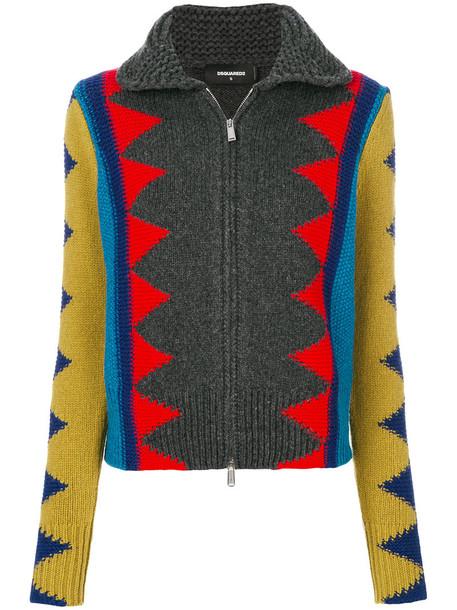 Dsquared2 cardigan cardigan zip women wool sweater