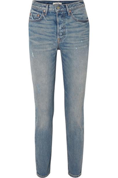 GRLFRND jeans skinny jeans denim high light