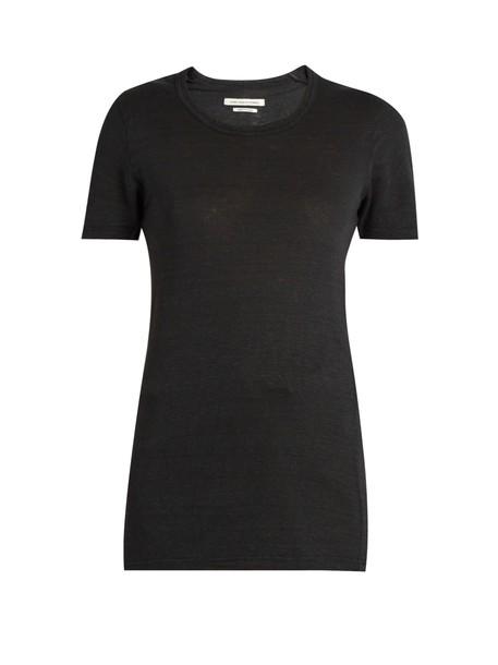 Isabel Marant etoile t-shirt shirt t-shirt black top