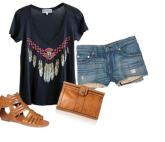 t-shirt casual basic clothes dreamcatcher