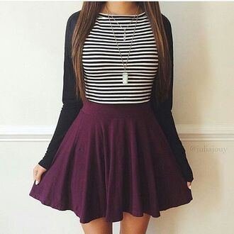 dress skirt burgundy pretty cute cute outfits