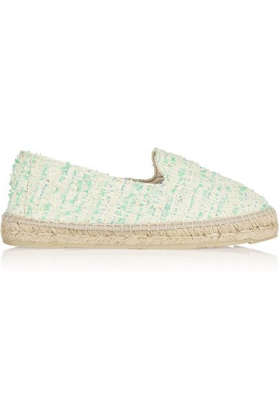 Manebi espadrilles light green shoes