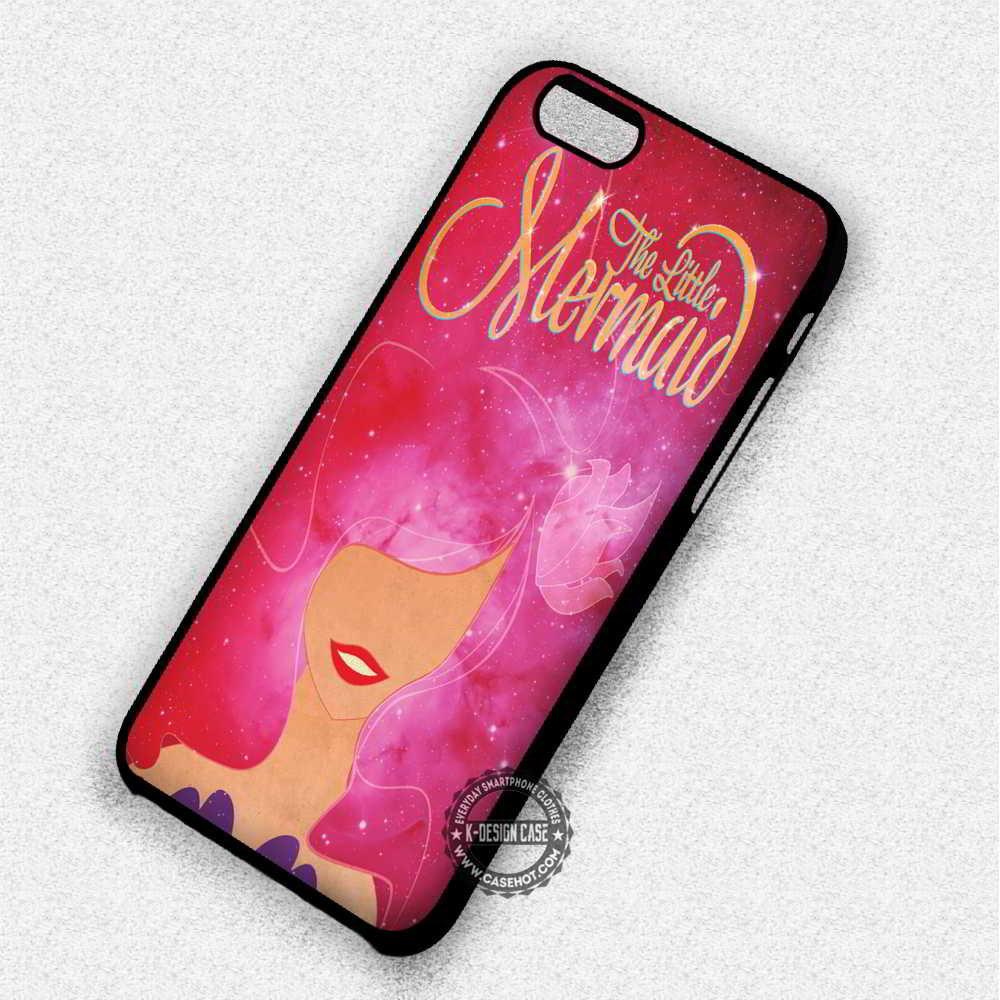 The Little Mermaid on Galaxy Ariel - iPhone 7 6 5 SE Cases & Covers