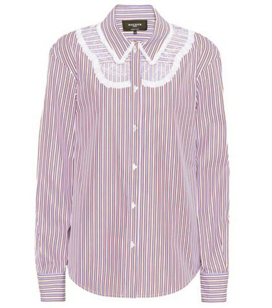 shirt lace cotton top