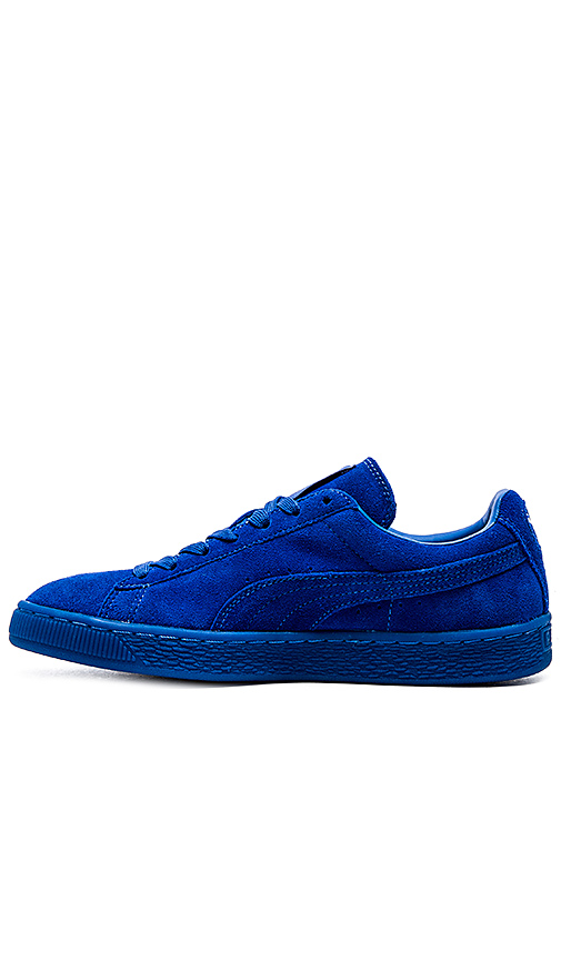 46f802dcf8d Puma Select Suede Classic ICED in Puma Royal Puma Royal from ...