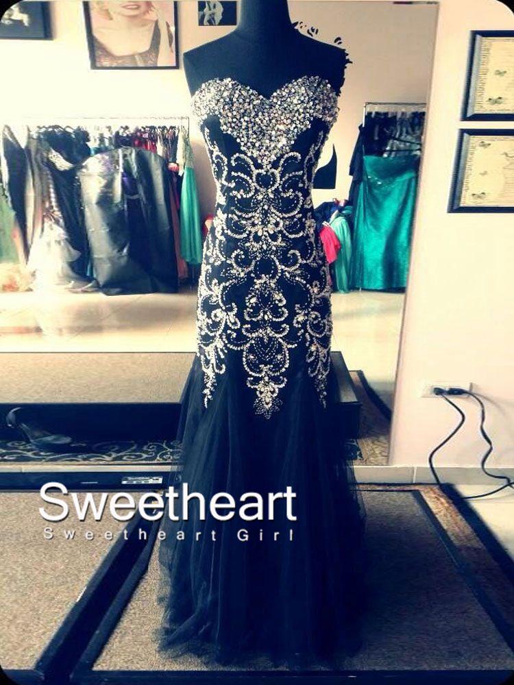 Line sweetheart neckline long prom dresses, evening dresses