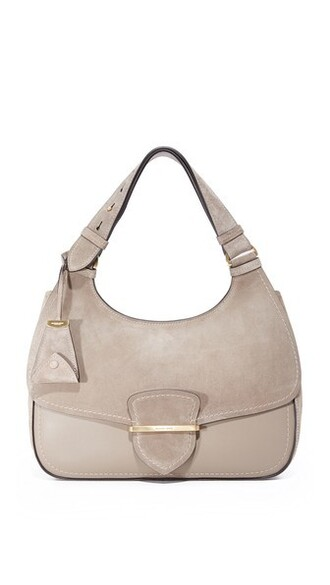 dark bag shoulder bag taupe