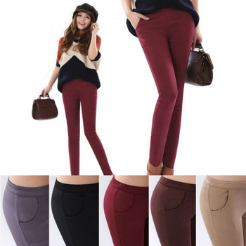 2013 new fall and winter fashion thick pencil pants low waist Slim repair,plus size S / M / L / XL / XXL / XXXL-in Pants & Capris from Apparel & Accessories on Aliexpress.com
