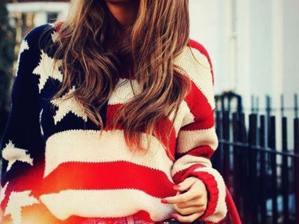 sweater america usa flag freedom teamusa patriotic