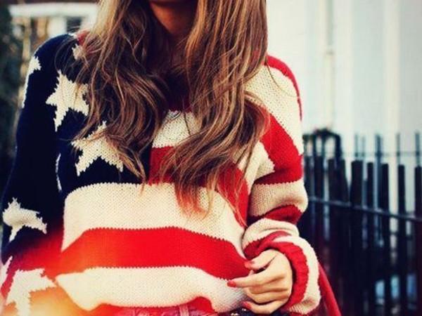 sweater america usa flag freedom teamusa patriotic