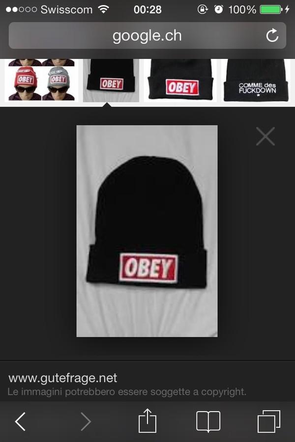hat obey
