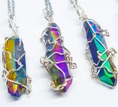 scarf,jewelry,jewels,blue,necklace,fashion,boho chic,crystal quartz,boho jewelry