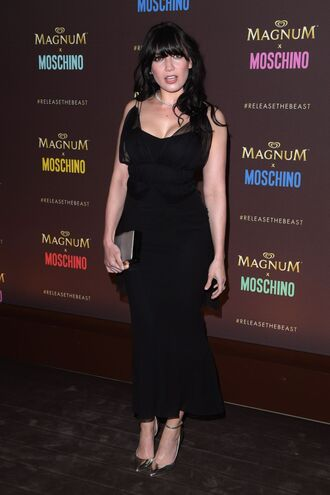 dress midi dress daisy lowe cannes black dress