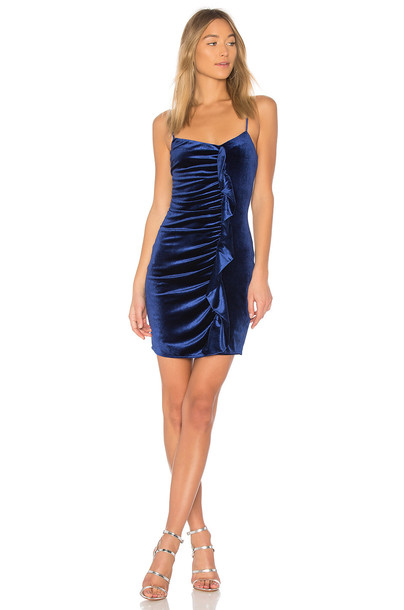 devlin dress blue