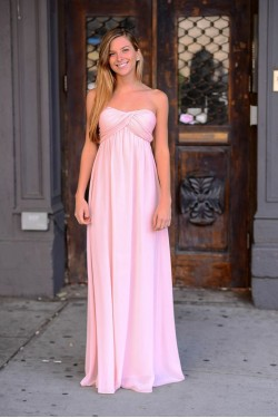 Grecian Blush Dress