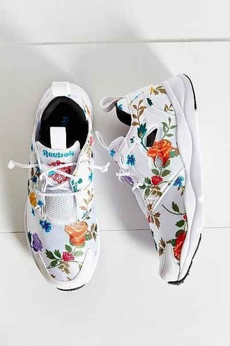 shoes adidas nike tropical leaves print cropped white white shoes floral flowers nude