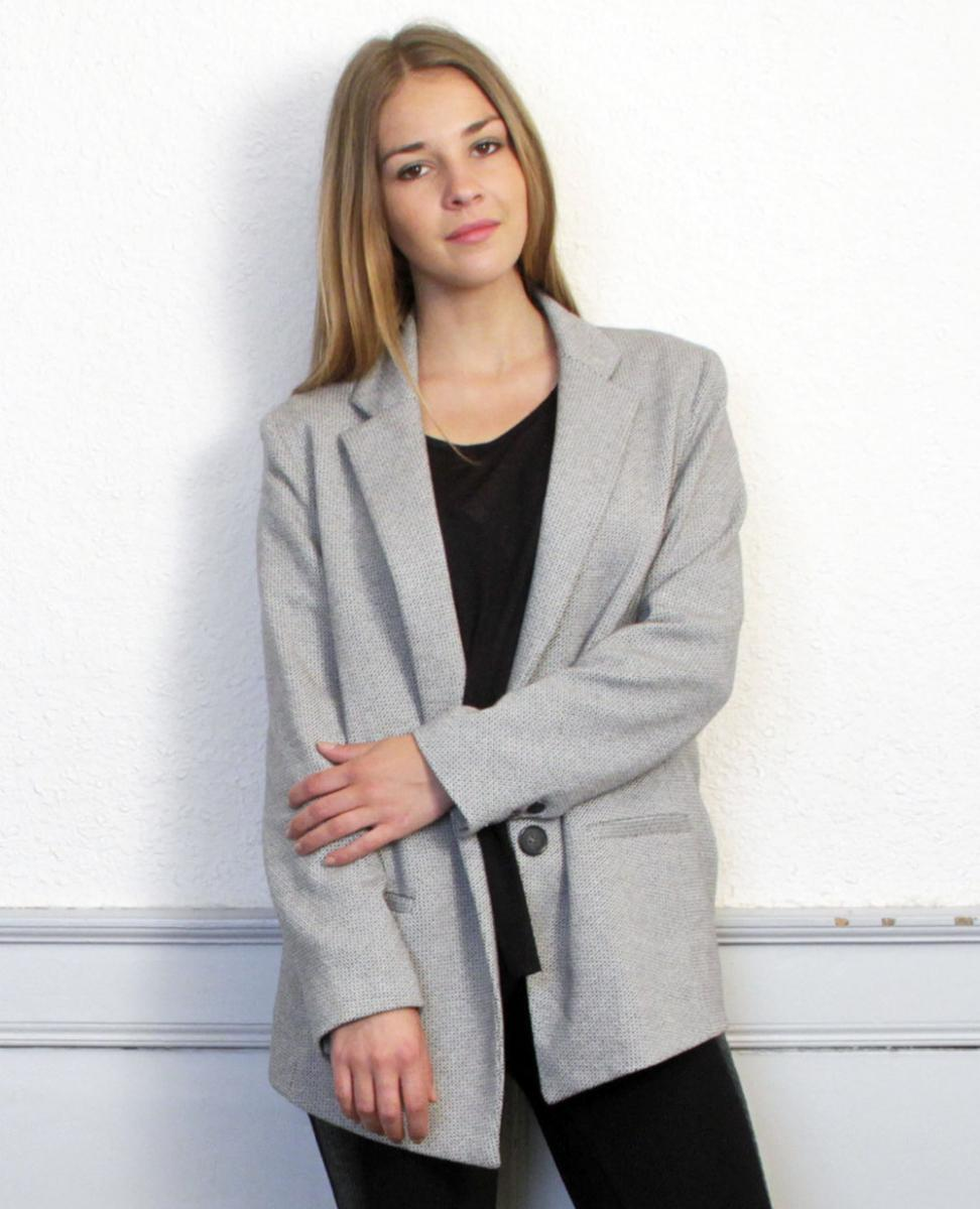 Margaux Lonnberg | Blazer Edward Grey | Shopnextdoor