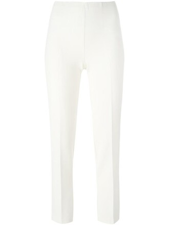 women spandex white pants