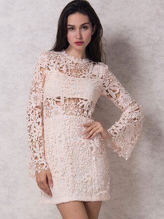 dress mynystyle summer dress lace dress boho dress crochet vintage