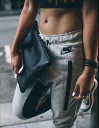 pants nike nike pants joggers grey pants nike sweatpants