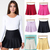 New arrival saias femininas summer 2014 casual women mini tennis skirts solid high waist pleated skirts free shipping-in Skirts from Apparel & Accessories on Aliexpress.com