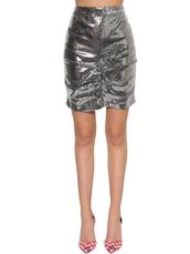 skirt,mini skirt,mini,silver