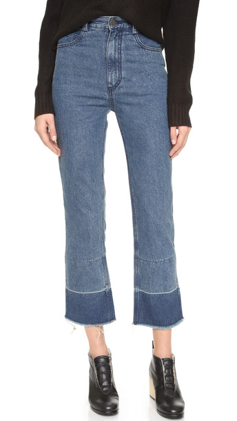 Rachel Comey Slim Legion Jeans - Indigo